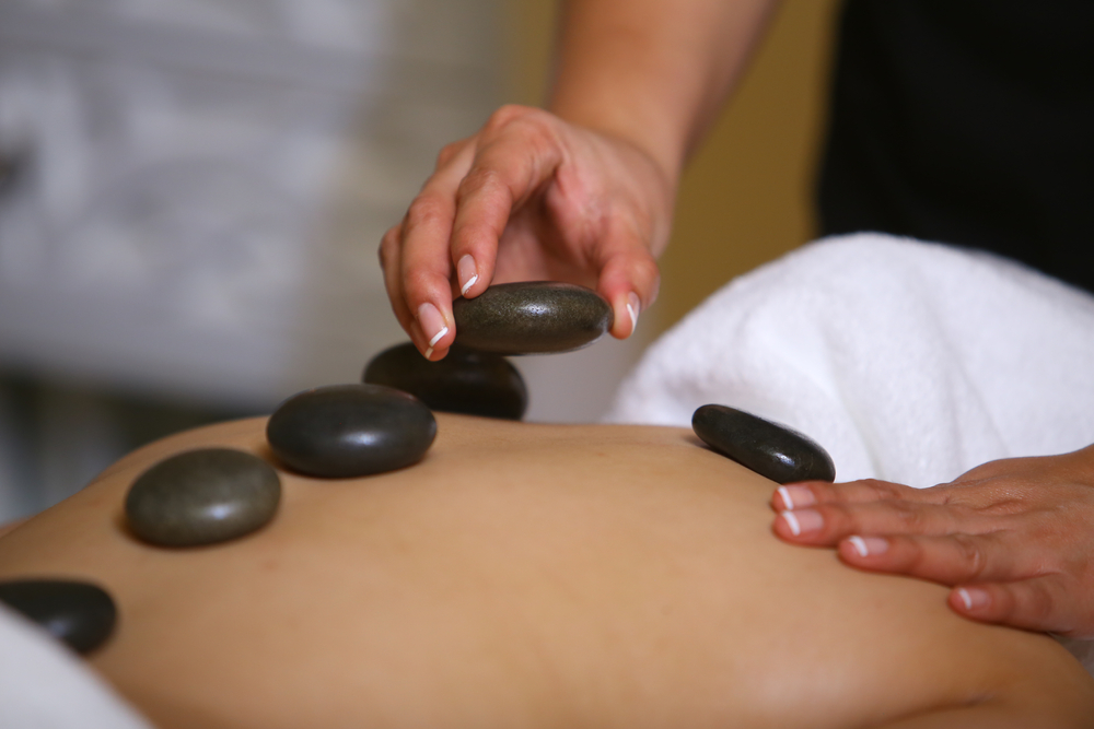 hot stone massage frampton