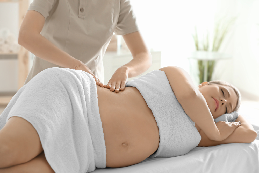 Pregnancy massage stroud